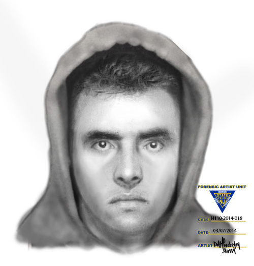Composite courtesy N.J. State Police Have you seen him?