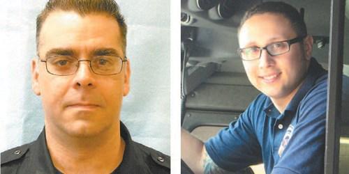Left photo courtesy HPD; right photo by Ron Leir Albert Pearson (l.) & Vincent Schwartz