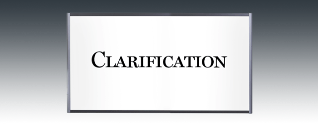 New Clarification Logo