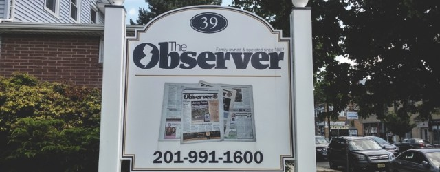 Observer Lawn Sign