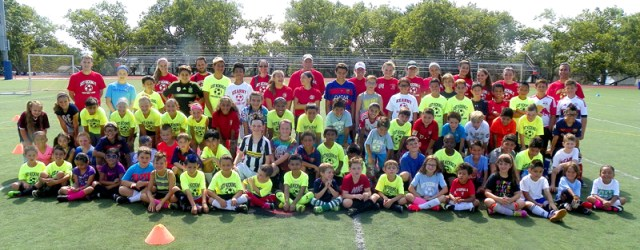 8-3 Kearny soccer camp, group