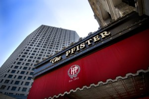 The Pfister Hotel in Milwaukee, Wisconsin is said to be haunted, by the MLB players who sleep there