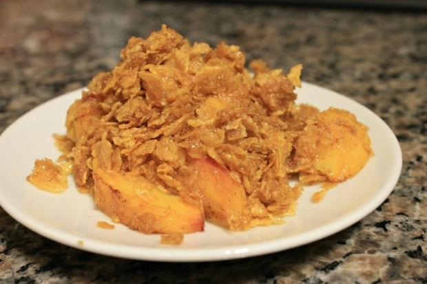 Best Ever Peach Crisp Recipe