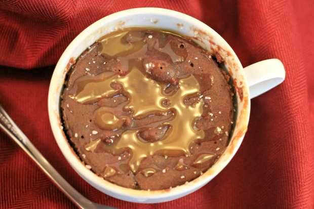 Microwave Mug Cake Recipes – Salted Caramel and Chocolate Brownie!