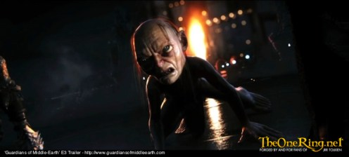 Guardians Of Middle Earth Video Game, E3 2012_Gollum-imp