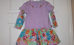 Dress from Baby Onesies