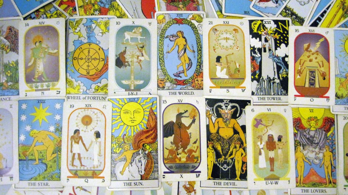 What is the difference between the Rider Waite Tarot and Brotherhood of Light Tarot?