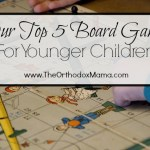 Our Top 5 Board Games for Small Children