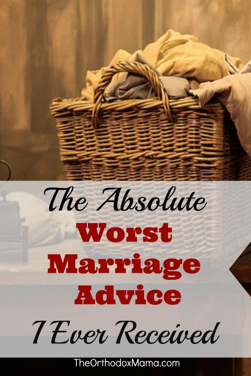The Worst Marriage Advice I Ever Received