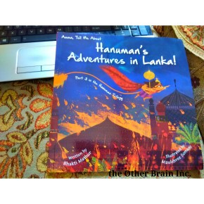 Book Review – Amma, tell me about Hanuman's Adventures in Lanka by Bhakti Mathur
