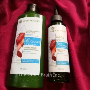 Yves Rocher Anti-Pelliculaire Anti-Recurrence Dandruff Shampoo & Treatment Lotion Review