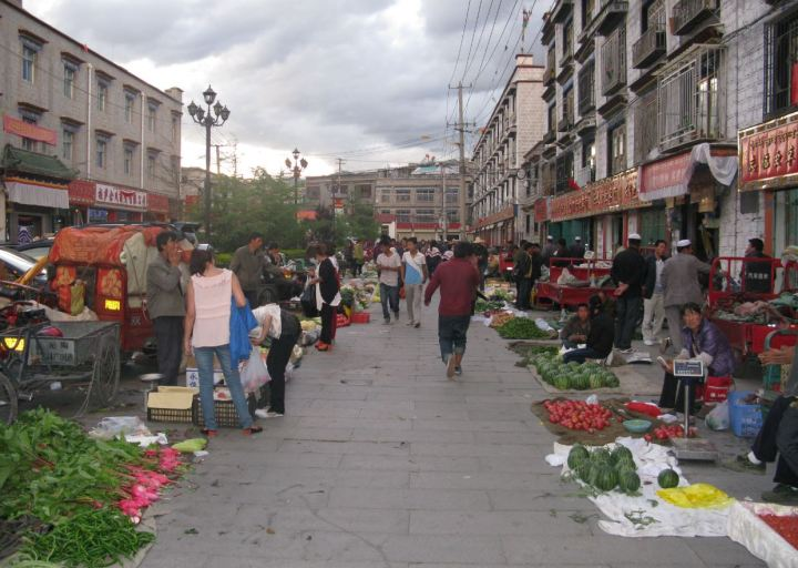 Markets in Lhasa