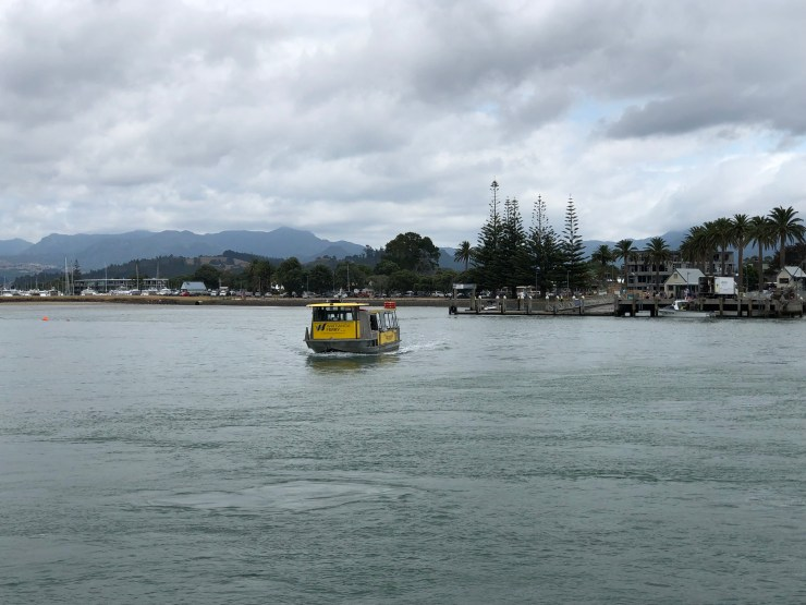 All aboard to Whitianga