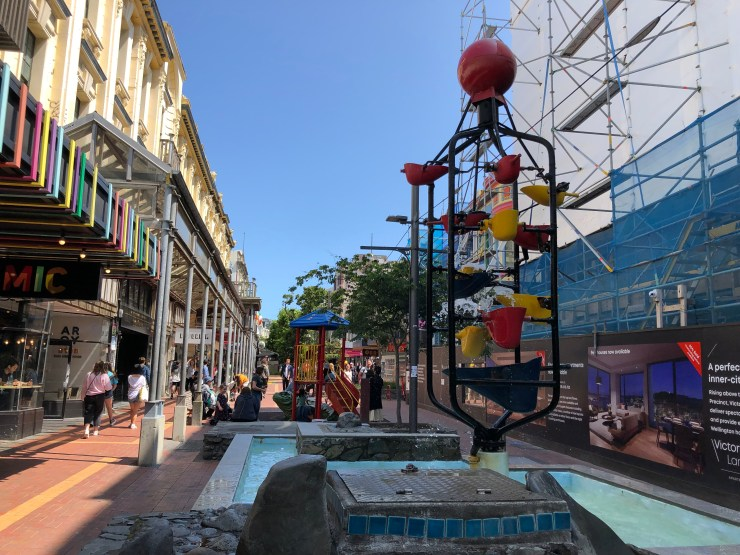 The Wellington Bucket Fountain - Future UNESCO World Heritage Site