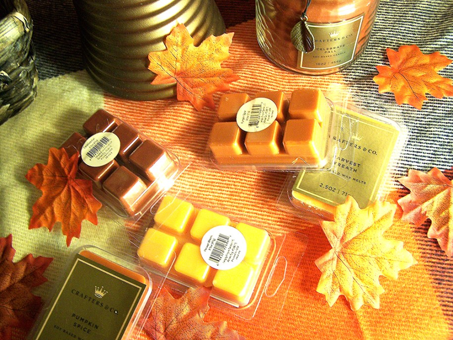 fall autumn Hallmark Crafters and Co iveaway gift candle candles leaves orange red yellow win enter contest free