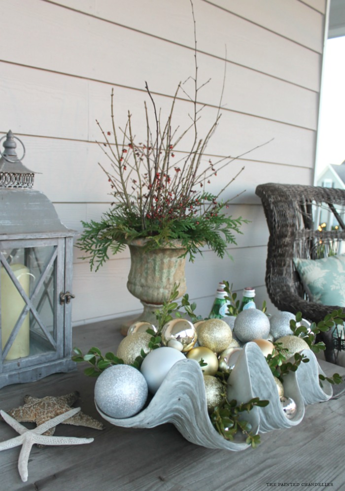 lantern-on-driftwood-table-christmas-porch