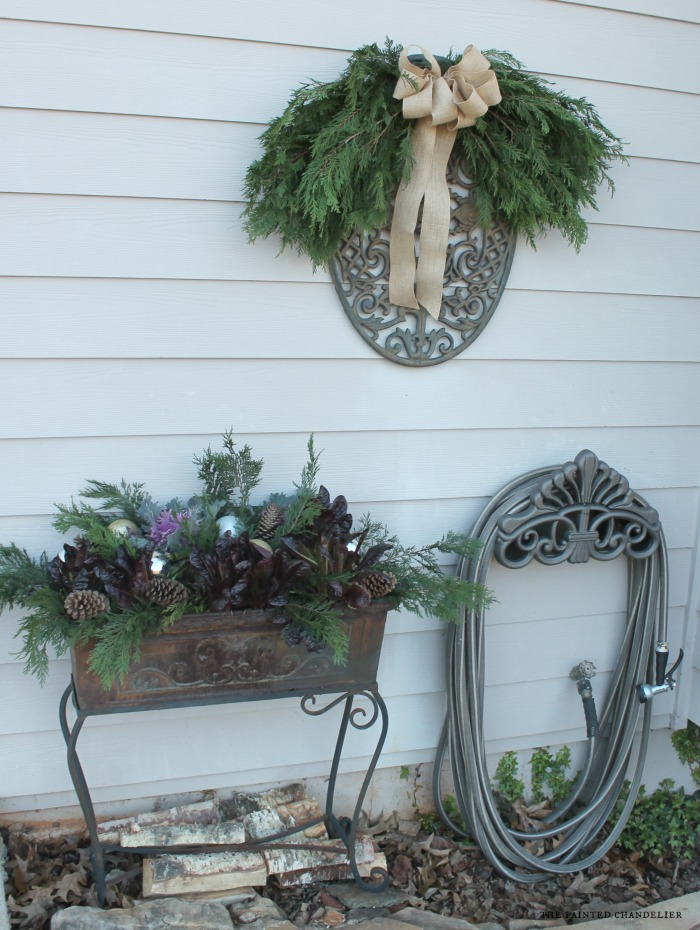 side-view-side-house-planter-christmas-porch-post