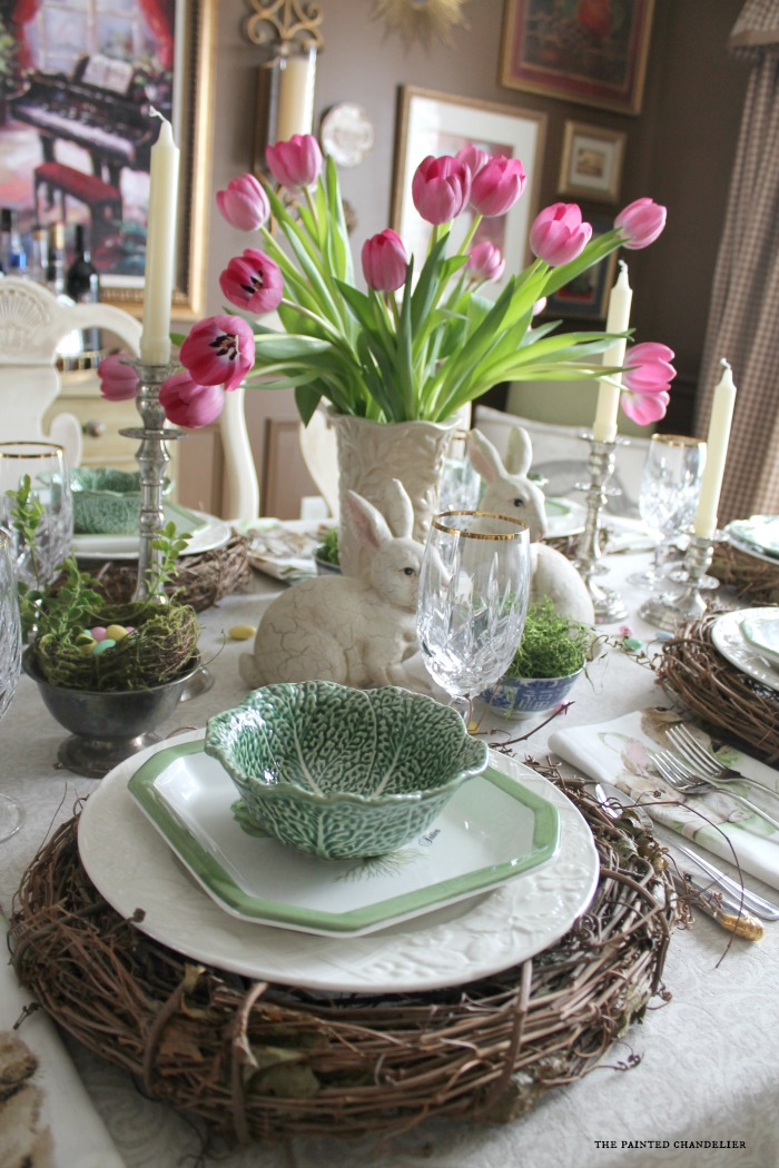 pink-tulips-cabbage-bowls-on-grapevine-wreath-easter-table