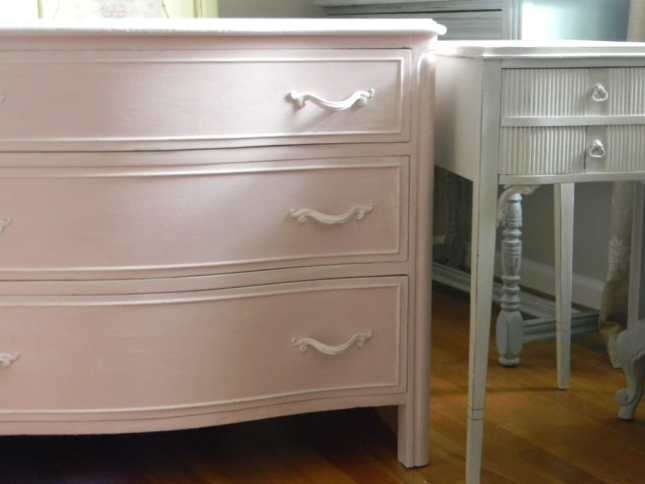 Pink Dresser www.thepainteddrawer.com