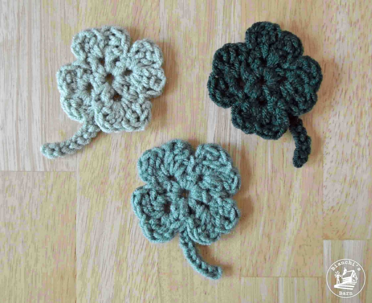 The Easiest Crochet Clover Pattern Ever!