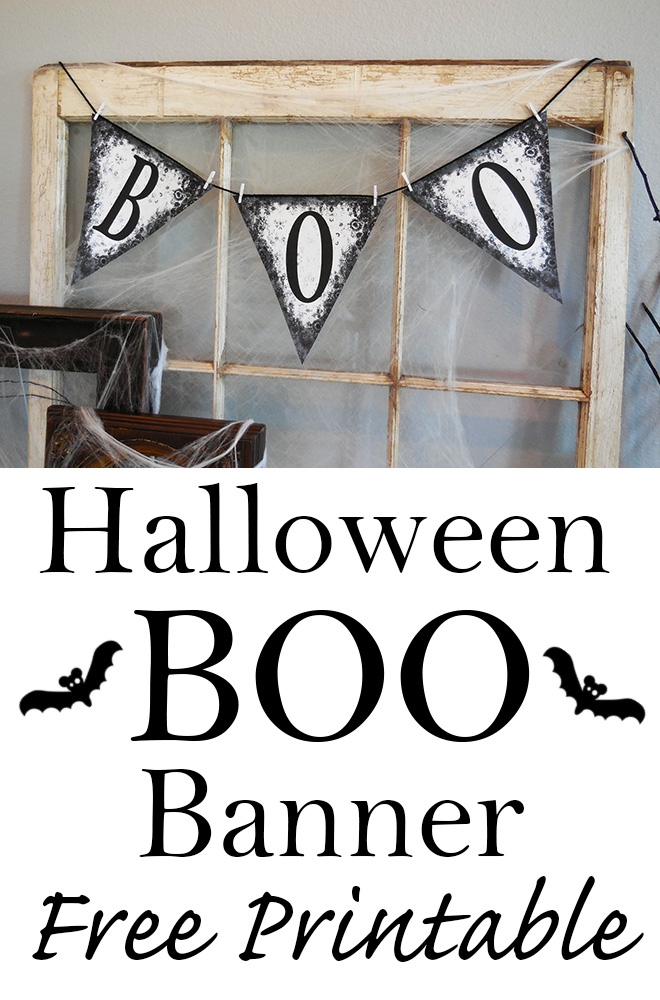 Fan image intended for free printable halloween banner