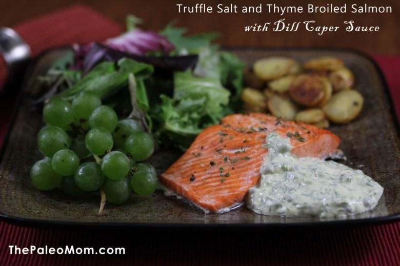 Paleo Thyme Salmon with Sage Pasta
