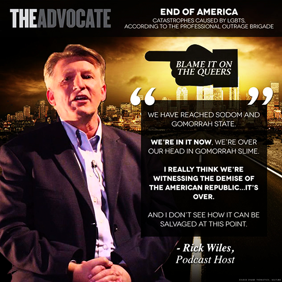 "In collaboration with some Panamanian law firms, ""offshore asset protection"" outfits and real estate people, plus another American named Daniel Daves, he has prompted a migration to Boquete of Americans who believe in these primitive hatreds and are prepared to evade the laws of the Republic of Panama. Quotations by Rick Wiles, graphic by The Advocate."