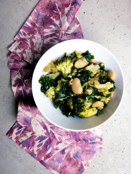 {Detox} Broccoli Bean Salad