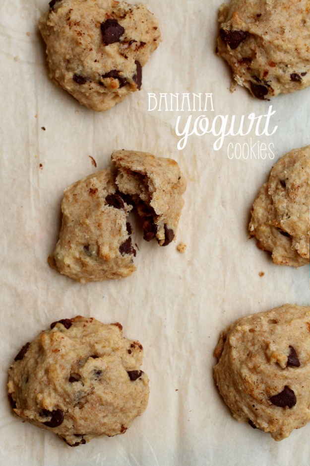 Banana Yogurt Cookies // The Pancake Princess
