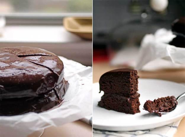 Superfood Chocolate Cake // The Pancake Princess