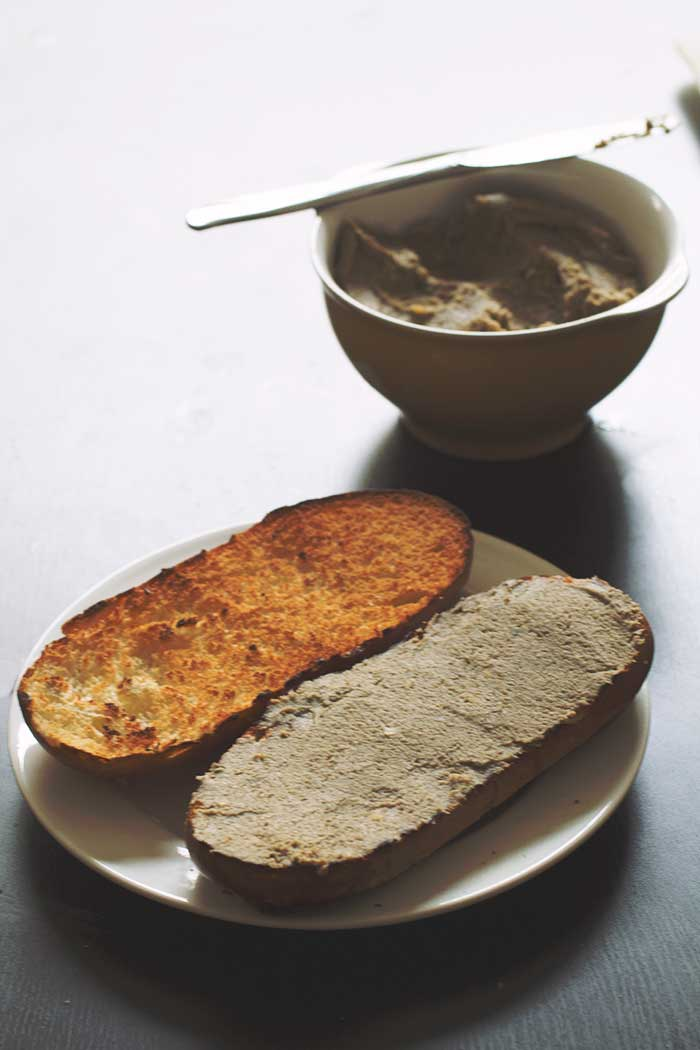 how to eat porl pate