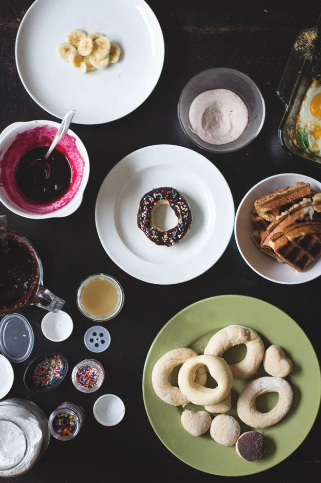 Easiest Baked Eggs + A Doughnut Bar Brunch // The Pancake Princess