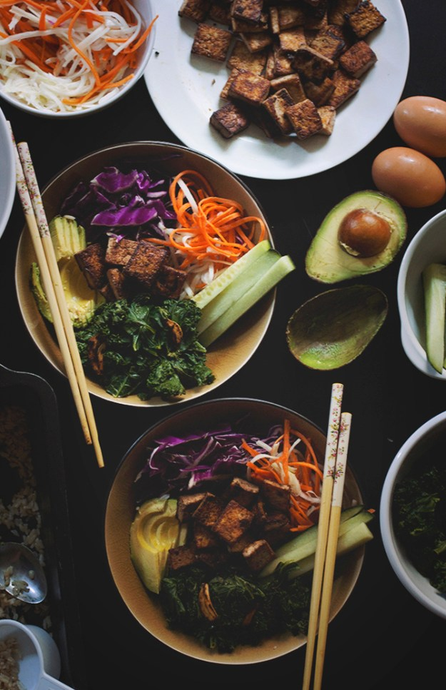 Vegan Bibimbap Bowls // The Pancake Princess