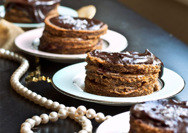 Mini ABJ Layer Cakes // The Pancake Princess