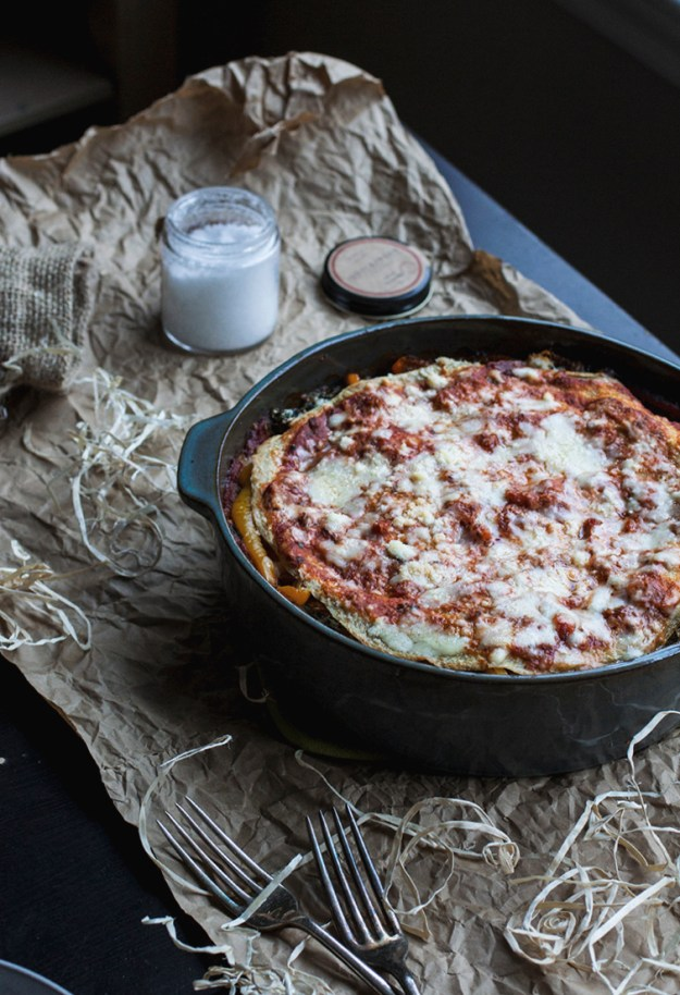 Vegetarian Quinoa Lasagna // The Pancake Princess