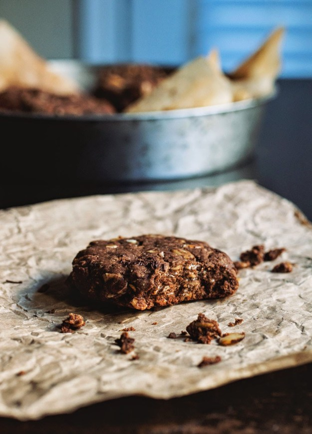 Kashi Almond Butter Cookies // The Pancake Princess