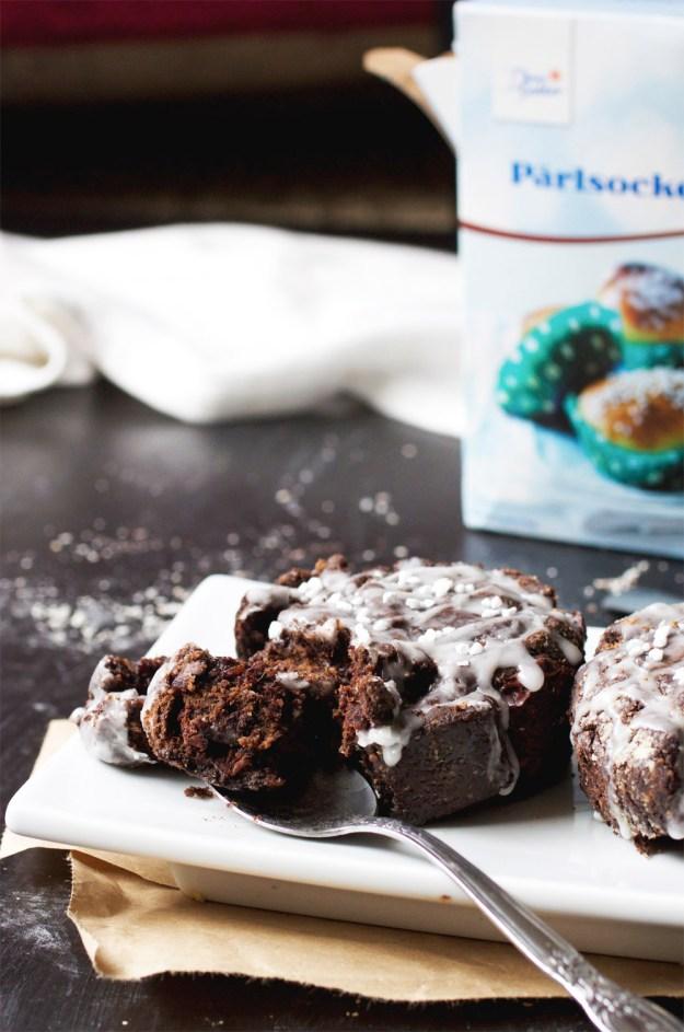 Single-Serving Chocolate Cinnamon Roll // The Pancake Princess