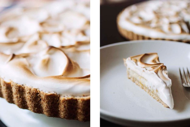 Aquafaba Lemon Meringue Pie // The Pancake Princess
