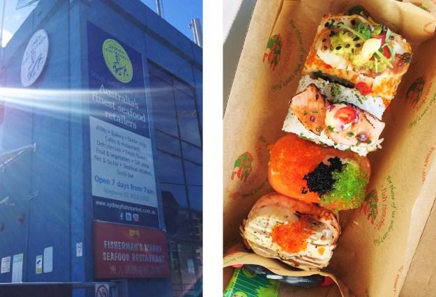 Sydney Fish Market // The Pancake Princess
