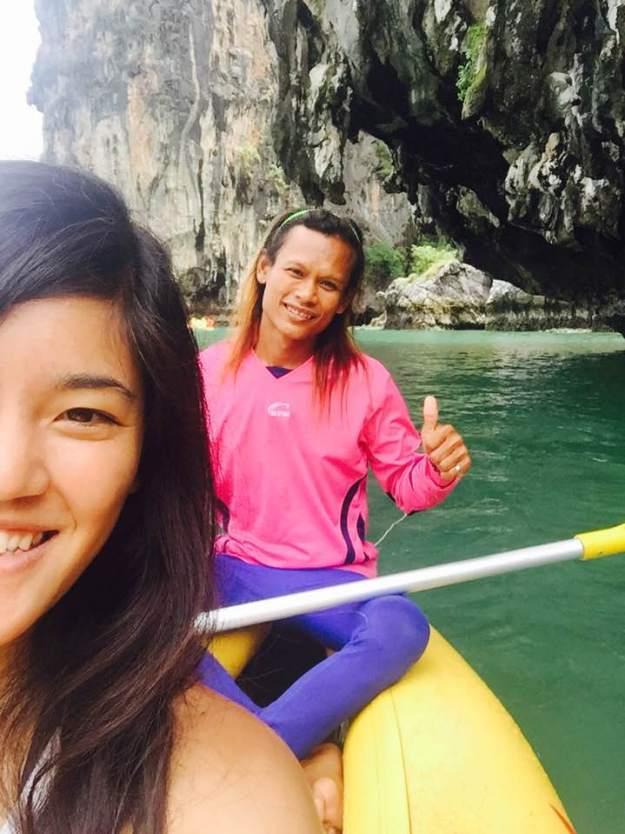 Just me and my ladyboy // Phuket