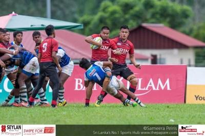 Photos: Sri Lanka v Malaysia - Asia U19 Rugby Championship 2016