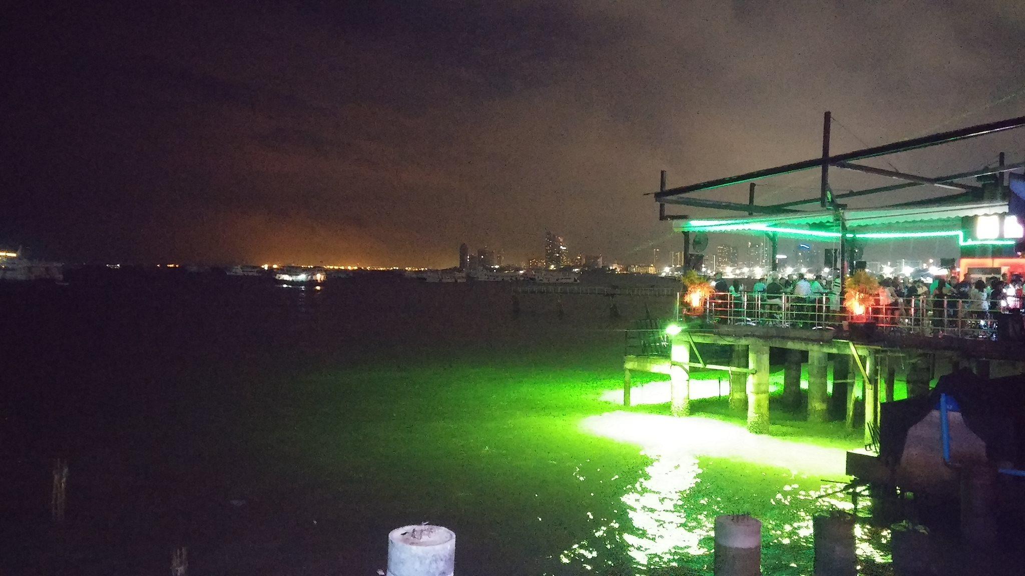 thailand ocean night