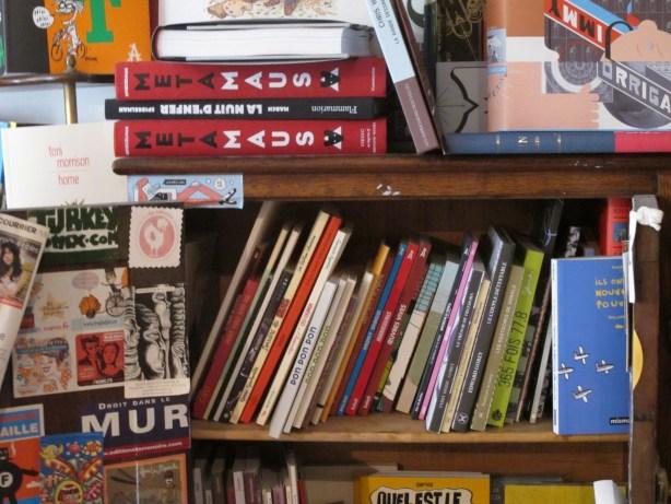 librairie bandes dessinées rue des Vinaigriers