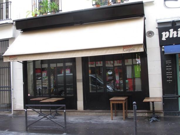restaurant italien rue des Vinaigriers