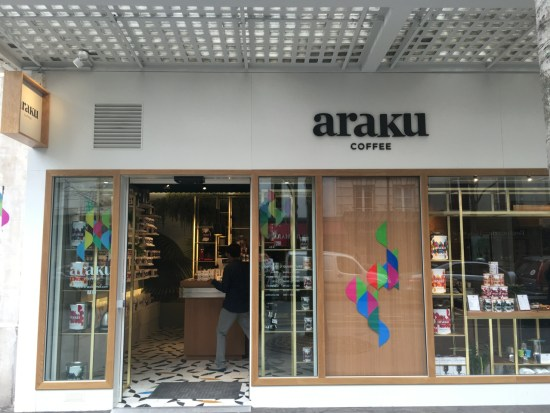 Araku coffee Paris