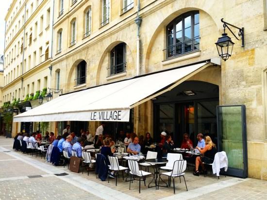 Restaurant Le Village - terrasse