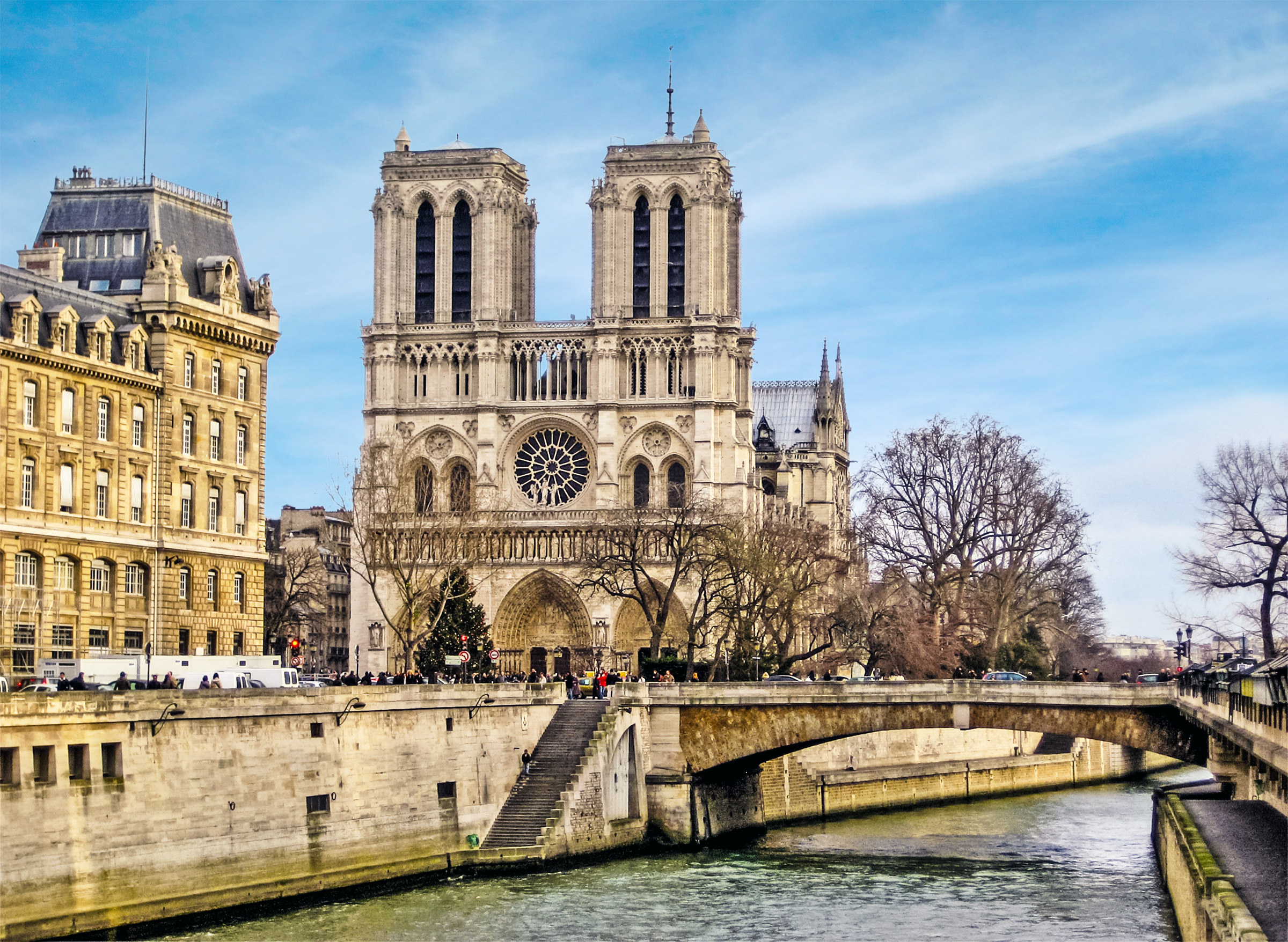 Paris  Reviewed Cathedral of Notre Dame  Paris  France