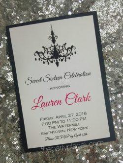 Small Of Sweet 16 Invitations