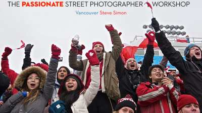 The Passionate Street Photographer Workshop Vancouver:   August 20-25, 2015!
