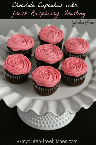 Gluten-free-Chocolate-Cupcakes-with-Fresh-Raspberry-Frosting